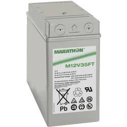 GNB Marathon M 12 V 35 FT NAMF120035HM0MA svinčeni akumulator 12 V 35 Ah svinčevo-koprenast (Š x V x G) 107 x 189 x 280 mm m6-vi