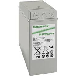 GNB Marathon M 12 V 60 FT NAMF120060HM0MA svinčeni akumulator 12 V 59 Ah svinčevo-koprenast (Š x V x G) 107 x 263 x 280 mm m6-vi