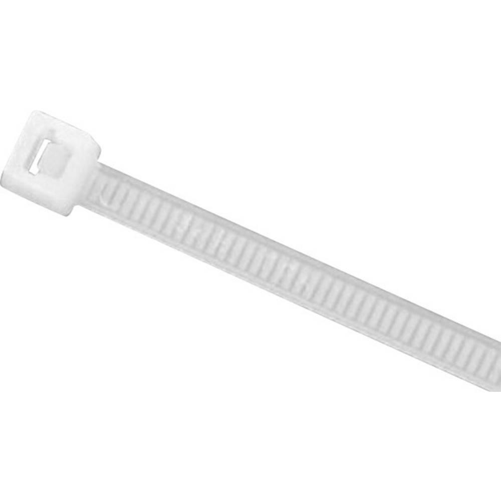 Kabelske vezice 385 mm naravne barve HellermannTyton 905-72011 UB385C-N-PA66-NA-C1 100 kos