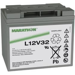 GNB Marathon L12V32 NALL120032HM0MC svinčeni akumulator 12 V 31.5 Ah svinčevo-koprenast (Š x V x G) 198 x 175 x 168 mm m6-vijačn