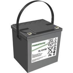 GNB Marathon XL12V50 NAXL120050HM0FA svinčeni akumulator 12 V 50.4 Ah svinčevo-koprenast (Š x V x G) 220 x 219 x 172 mm m6-vijač