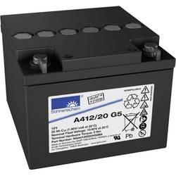 Svinčev akumulator 12 V 20 Ah GNB Sonnenschein A412/20 G5 NGA4120020HS0BA svinčevo-gelni 167 x 126 x 176 mm M5-vijačni priklop