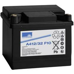 GNB Sonnenschein A412/32 F10 NGA4120032HS0FA svinčeni akumulator 12 V 32 Ah svinčevo-gelni (Š x V x G) 210 x 181 x 175 mm m10-vi