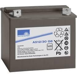 GNB Sonnenschein A512/30 G6 NGA5120030HS0BA svinčeni akumulator 12 V 30 Ah svinčevo-gelni (Š x V x G) 197 x 180 x 132 mm m6-vija