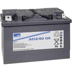 GNB Sonnenschein A512/60 G6 NGA5120060HS0BA svinčeni akumulator 12 V 60 Ah svinčevo-gelni (Š x V x G) 278 x 190 x 175 mm m6-vija