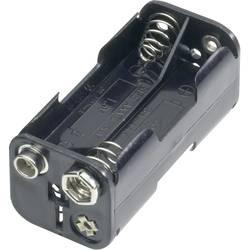 Držalo za baterije D za 4 Micro baterije (D x Š x V) 54.5 x 26 x 24.5 mm