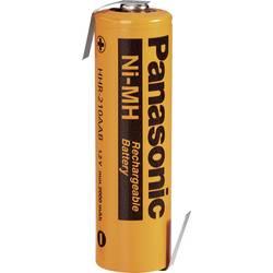 NiMH akumulator Panasonic Mignon Z-spajkalni priključek, HHR-210AAB3B-1Z 1.2 V 2000 mAh (Ø x V) 15 mm x 50 mm