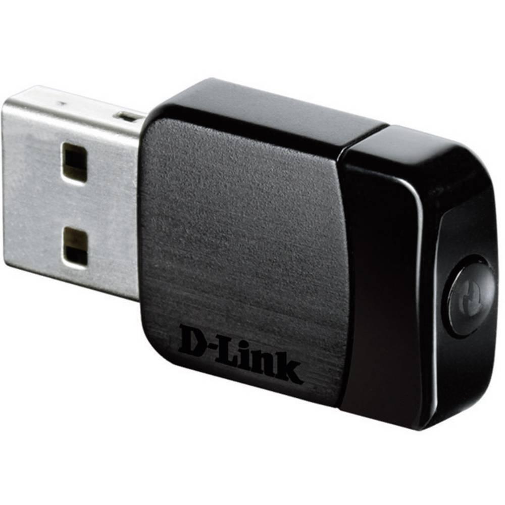 WLAN ključ USB 2.0 750 Mbit / s 2,4 GHz, 5 GHz D-Link DWA-171