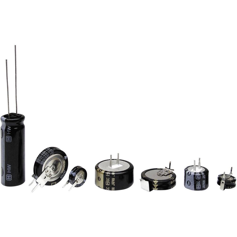 Gold-Cap kondenzator 0.22 F 3.6 V 30 % (premer) 10.5 mm Panasonic EECRG0V224H 1 kos