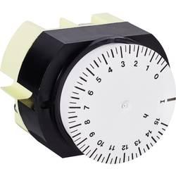 Uklopni sat za montažu na profilne šine, analogni, Suevia 346 K15 WS 230 V/AC 16 A/250 V