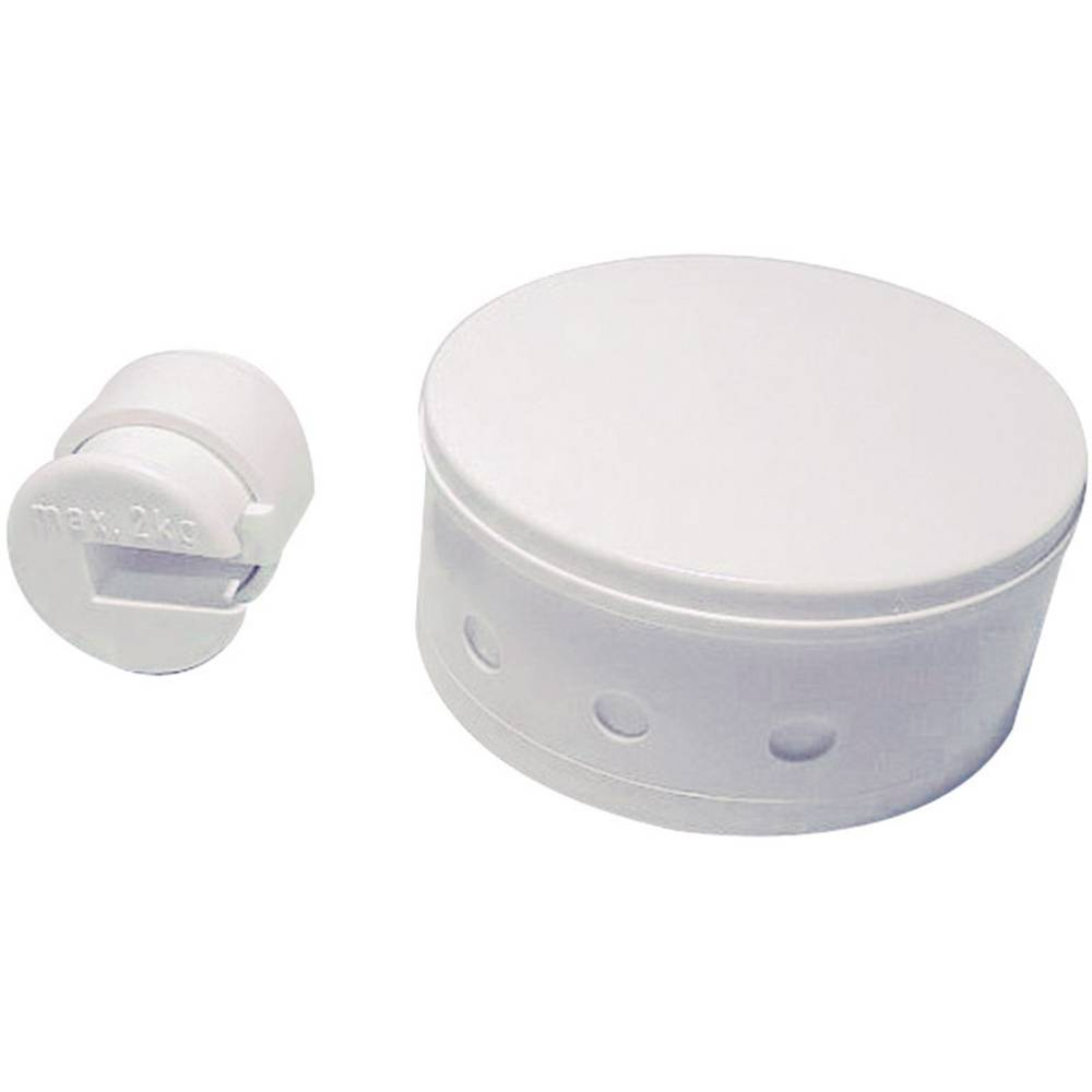 Baldahin za stropni razdjelnik za svjetiljke bijeli 0621 GAO