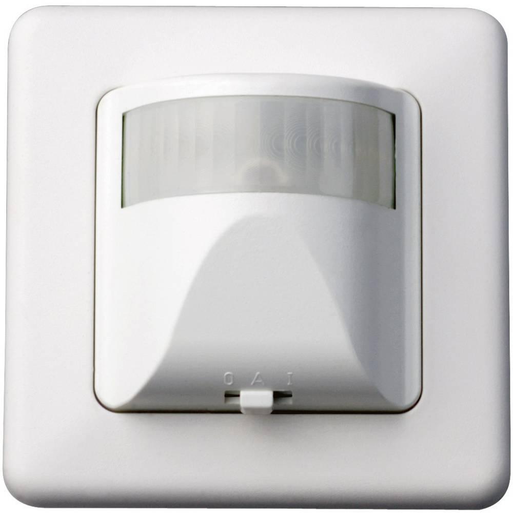 Kopp 8058.1301.0 podometni detektor gibanja 180° bele barve, kot zajemanja 180 ° stikalni kontakt: triac IP20