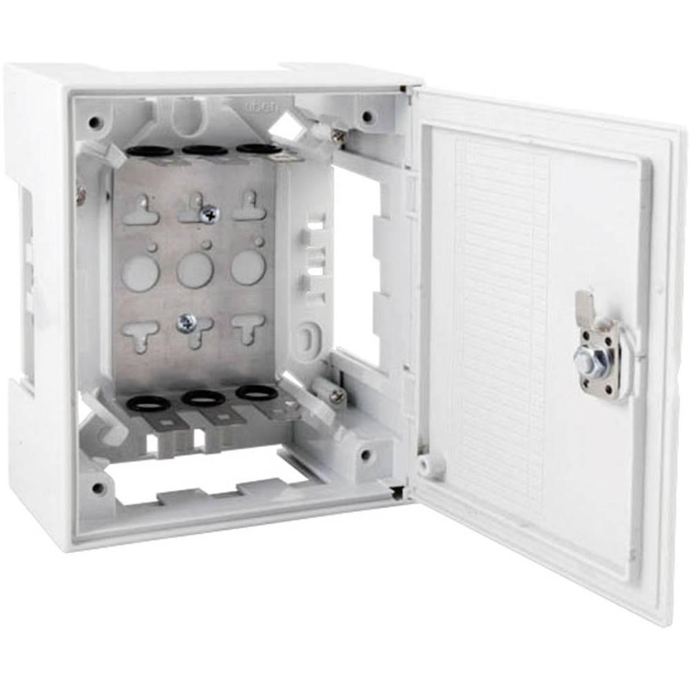 Razdelilnik iz umetne mase BOX I BOX I z zaklepom 3 LSA-letvice 2/10 46025.4 EFB Elektronik vsebuje: 1 kos