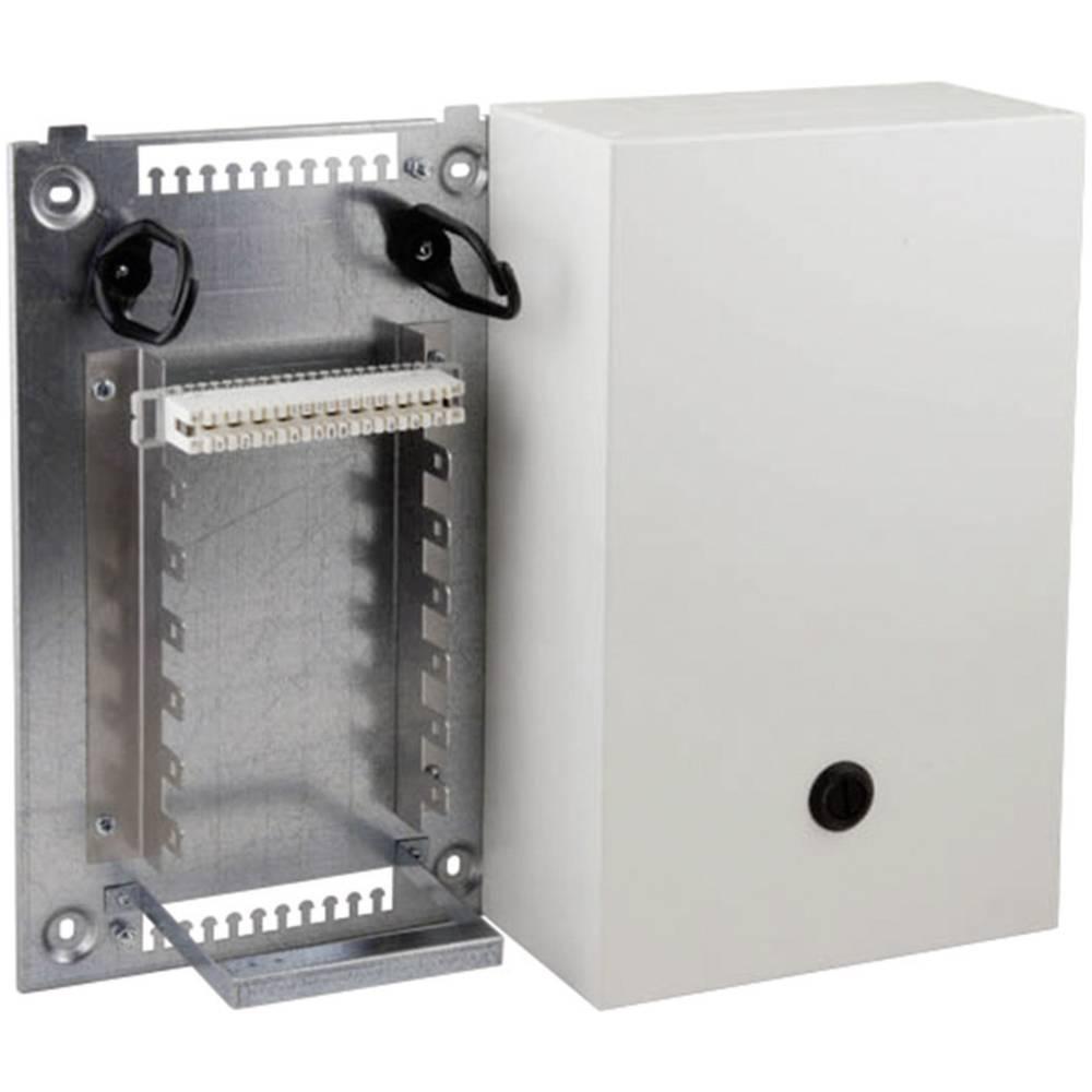 Zaboj za razdelitev jekla VKA2 ohišje, z montažnim kotom za 7 letvice 2/10 70 dvojno-dozirane 46017.1v10 EFB Elektronik vsebuje: