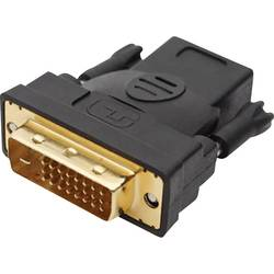 DVI/HDMI adapter Club3D [1x DVI-utikač 24+1pol.   1x HDMI-utičnica] 0.16m, bijel, CAA-DMD>HFD3