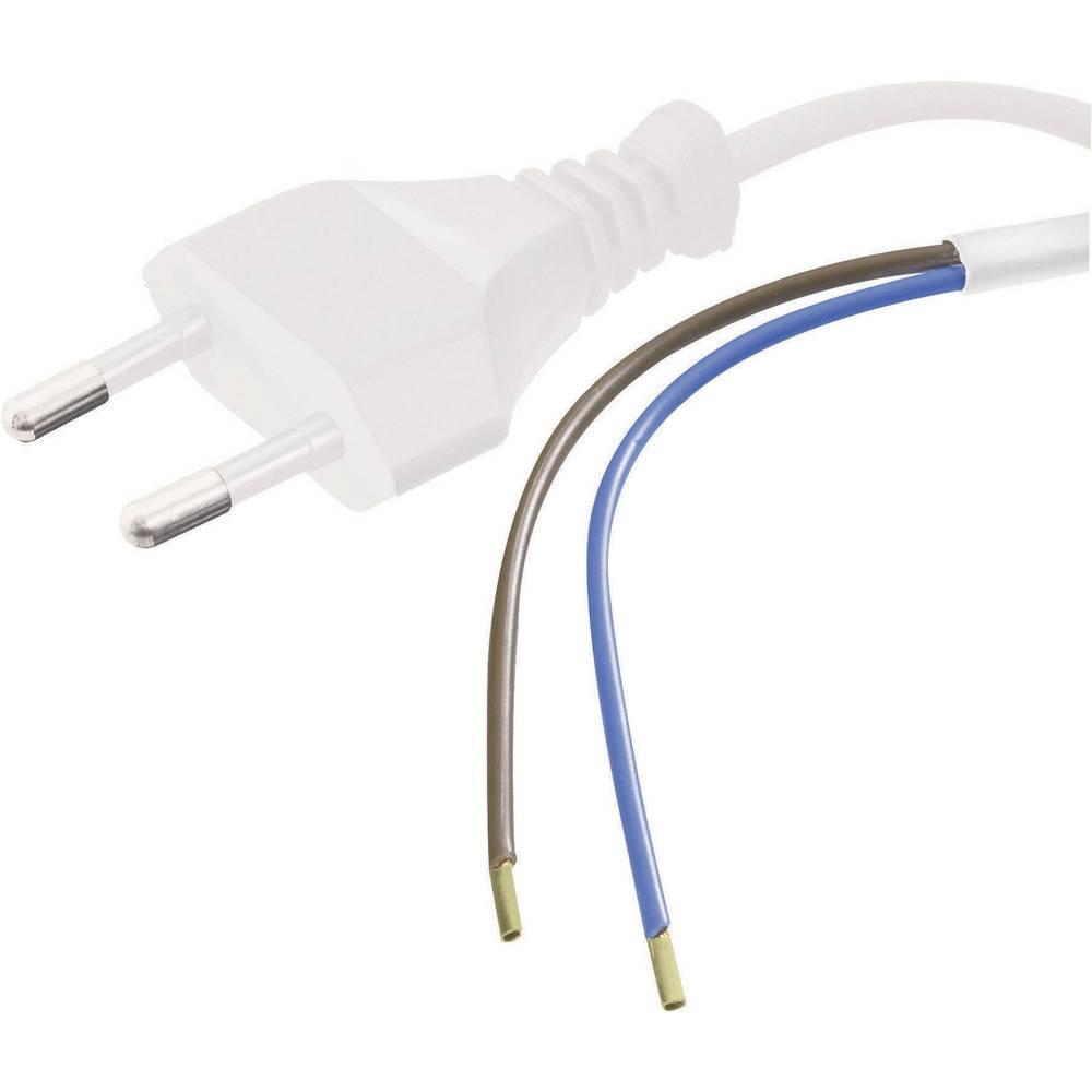 Priključni kabel [ euro utikač - kabel, otvoreni kraj] bijeli 1.5 m HAWA 1008201