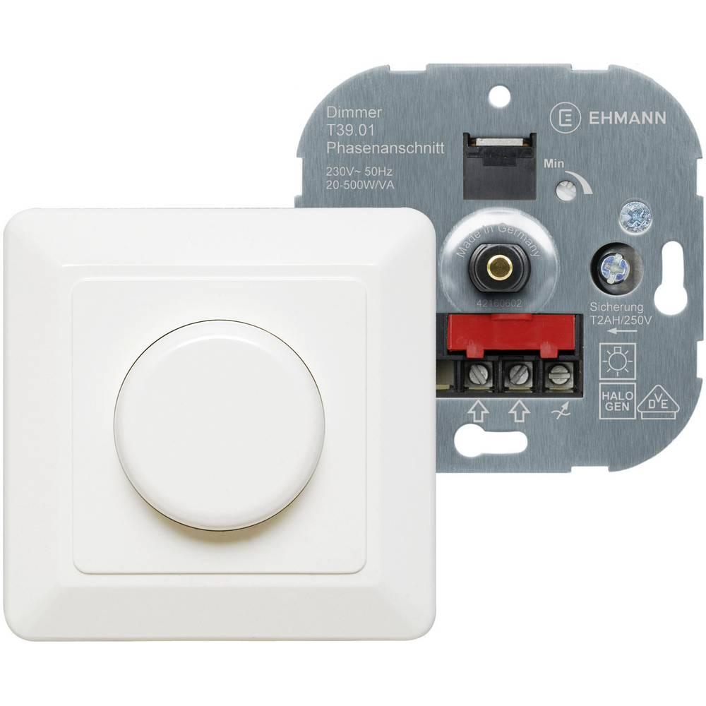 Zatemnilnik za navadne, nizko in visokonapetostne halogenske žarnice 20-500 W bele barve Ehmann 3960c0120