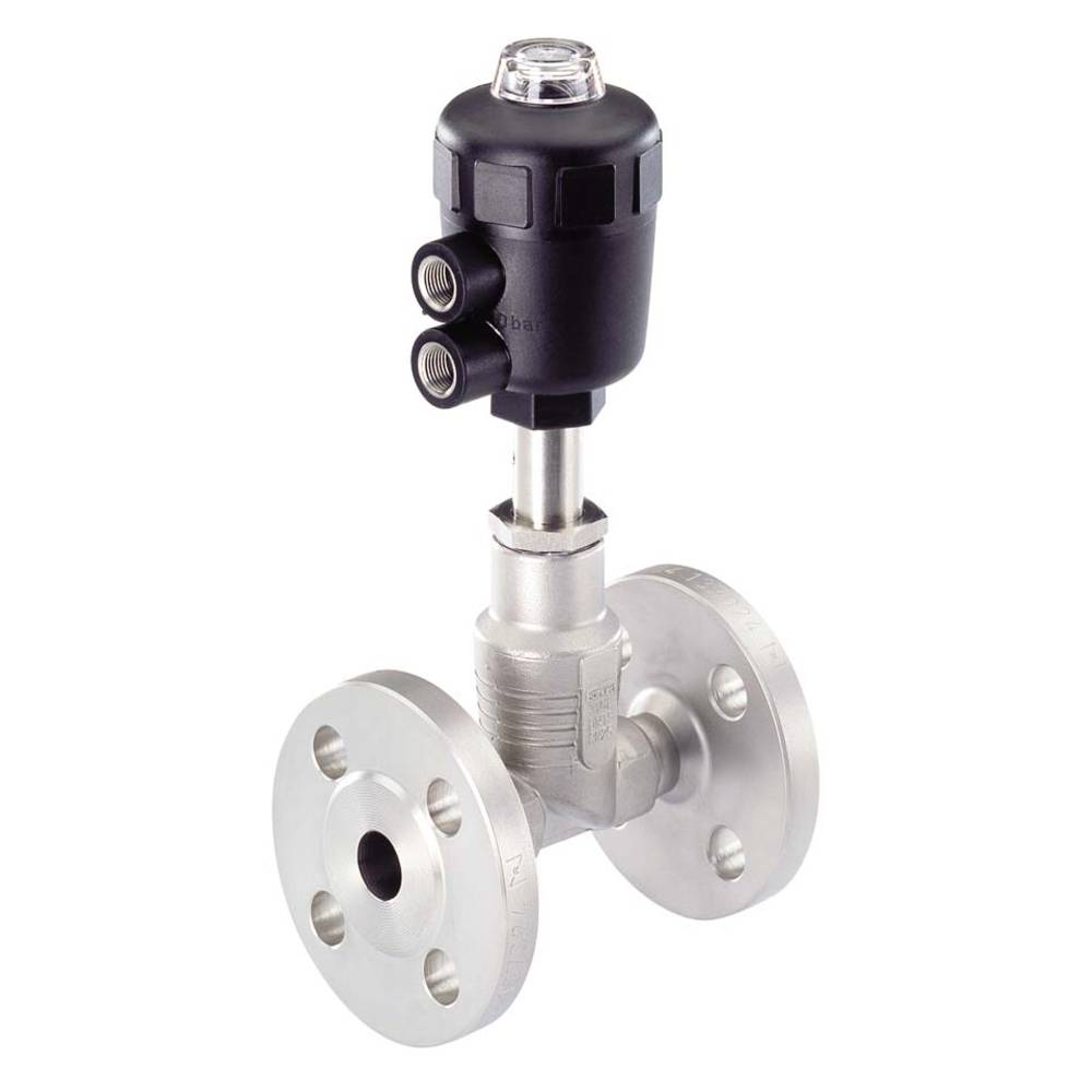 2/2-smerni zračno krmiljen ventil Bürkert 156488 ohišje iz nerjavečega jekla, tesnilni material PTFE