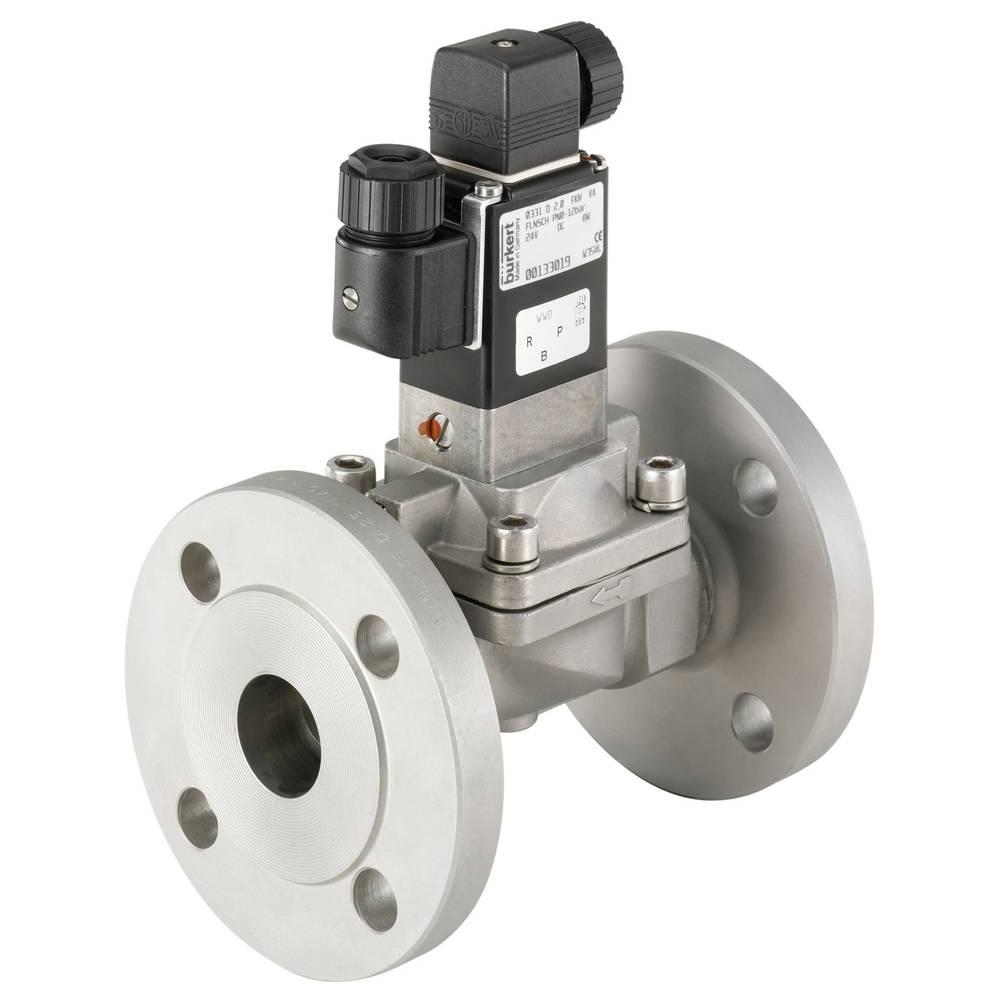 2/2-smerni ventil s servo krmiljenjem Bürkert 134567 24 V/AC ohišje iz nerjavečega jekla, tesnilni material FKM