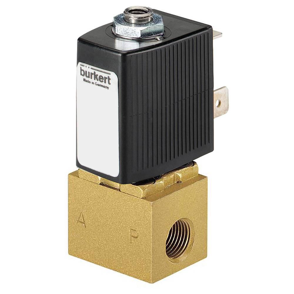 3/2-razvodni ventil s izravnim upravljanjem Bürkert 134151 24 V/DC G 1/8 nazivna širina 1.2 mm kućište od mjeda, brtveni materij