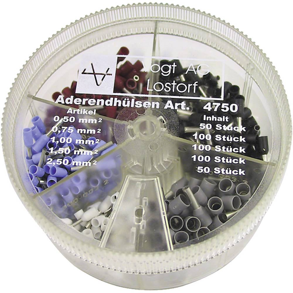 Sortiment čahura za kabelE 4750 Vogt Verbindungstechnik