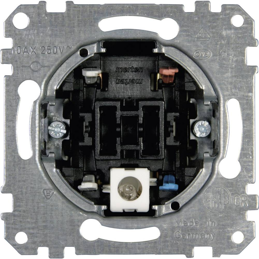 Merten vložek, kontrolno stikalo, izmenično stikalo MEG3106-0000