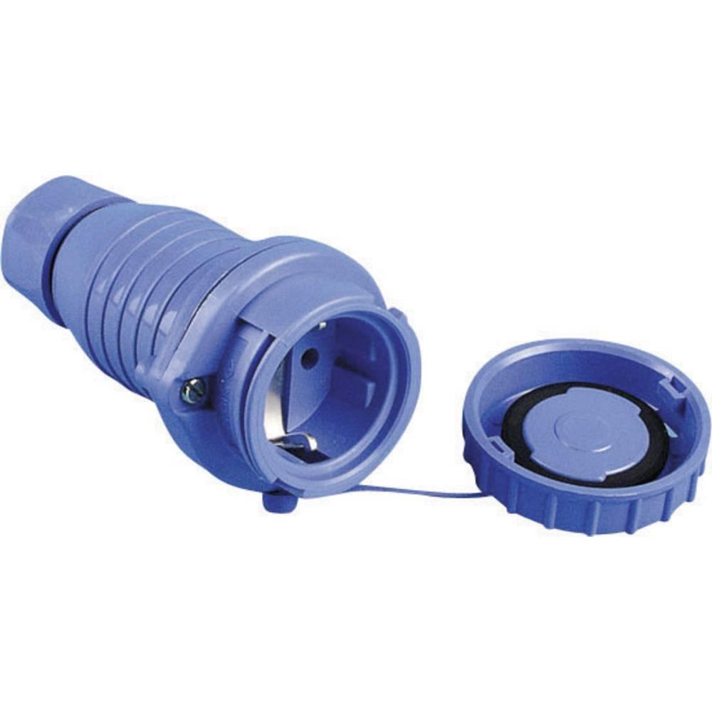 Schutzkontaktkupplung (value.1291858) Plast trykvandstæt 230 V Blå IP68 626002