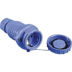 Skarvuttag Plast tryckvattentät 230 V IP68 Blå