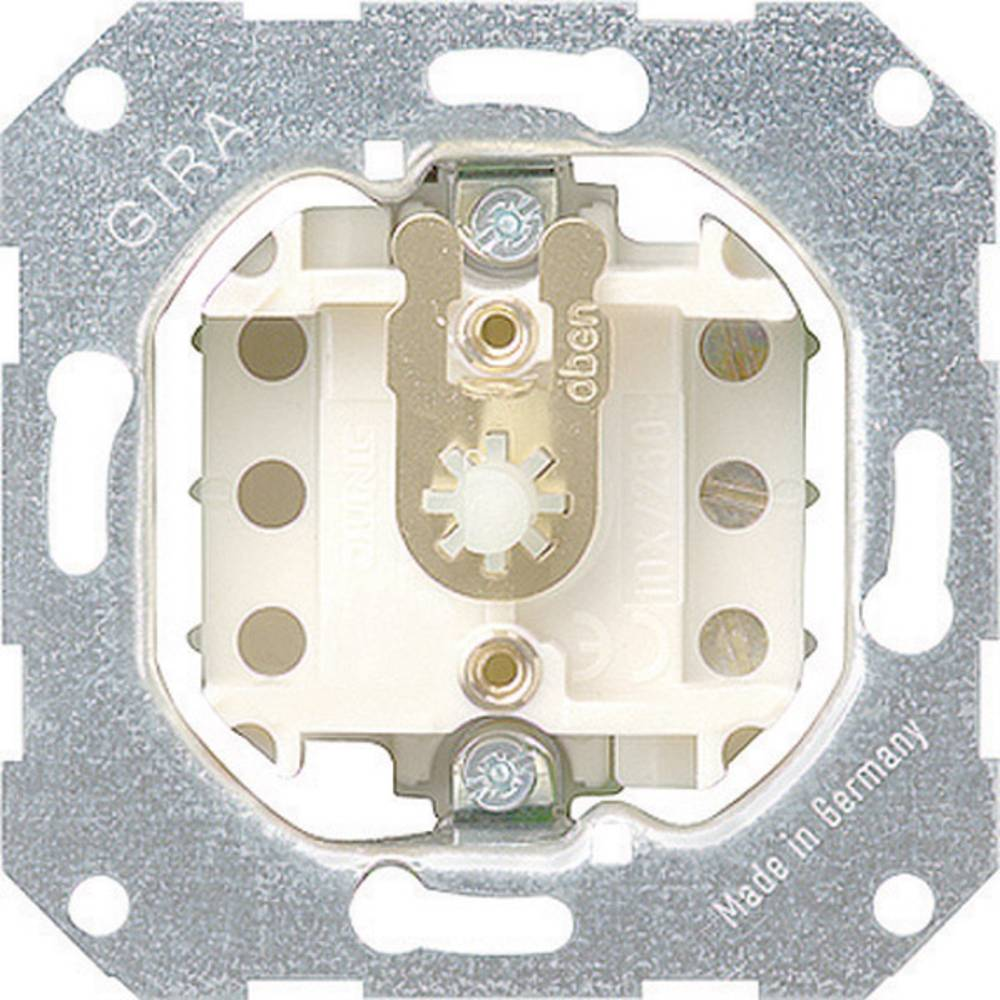 GIRA ugradni dio taster za sjenila standard 55, E2, Event Klar, Event, Event Opak, Esprit, ClassiX, sistem 55 015700