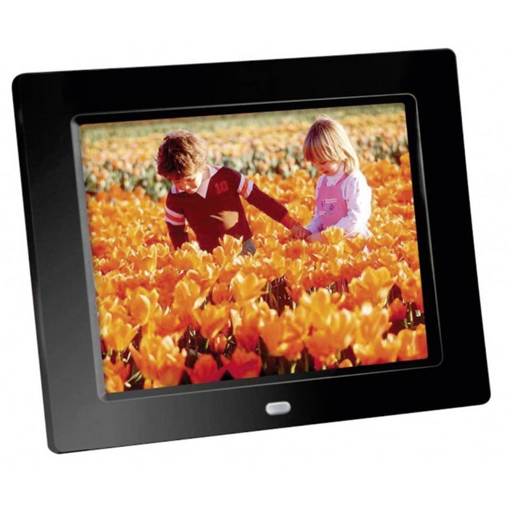Digitalni okvir za slike DigiFrame 80 Braun Germany 20.3 cm (8 cola) 800 x 600 piksela crna