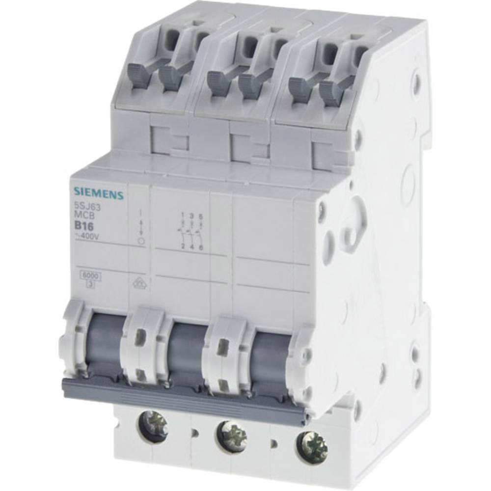 Inštalacijski odklopnik 3-polni 16 A Siemens 5SJ63166KS