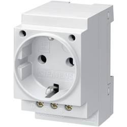DIN-skena uttag utan klafflock Grå 16 A 250 V/AC Siemens 5TE6800