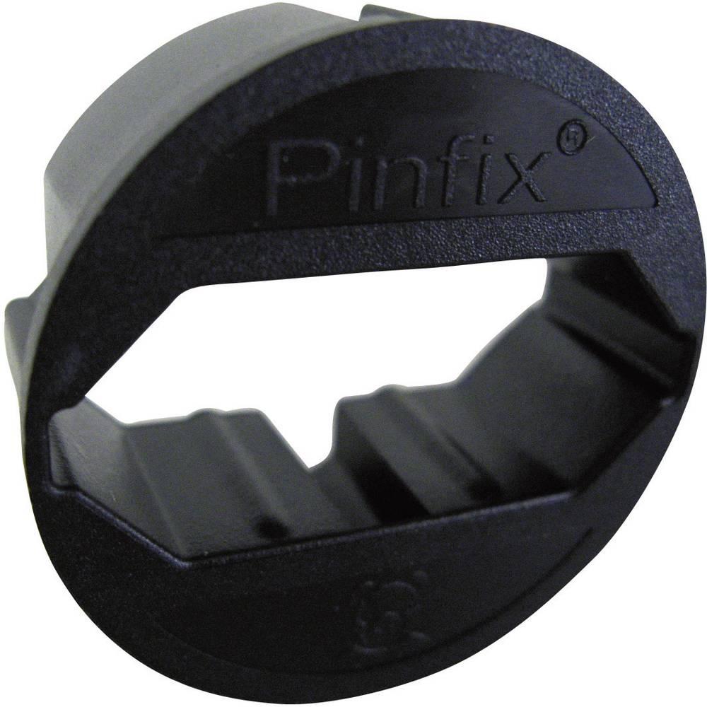 Adapter za utičnicu Pinfix crni