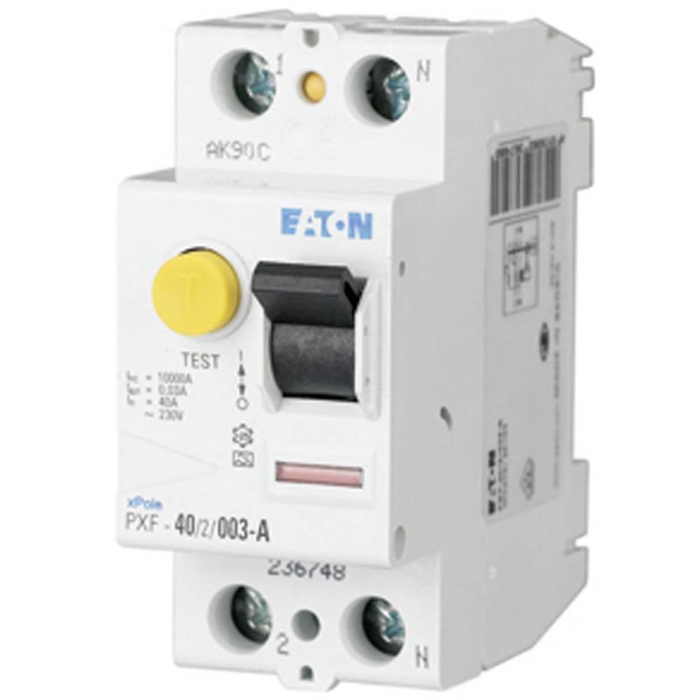 FI-sikkerhedsafbryder 2-polet 40 A 0.03 A 230 V Eaton 236748