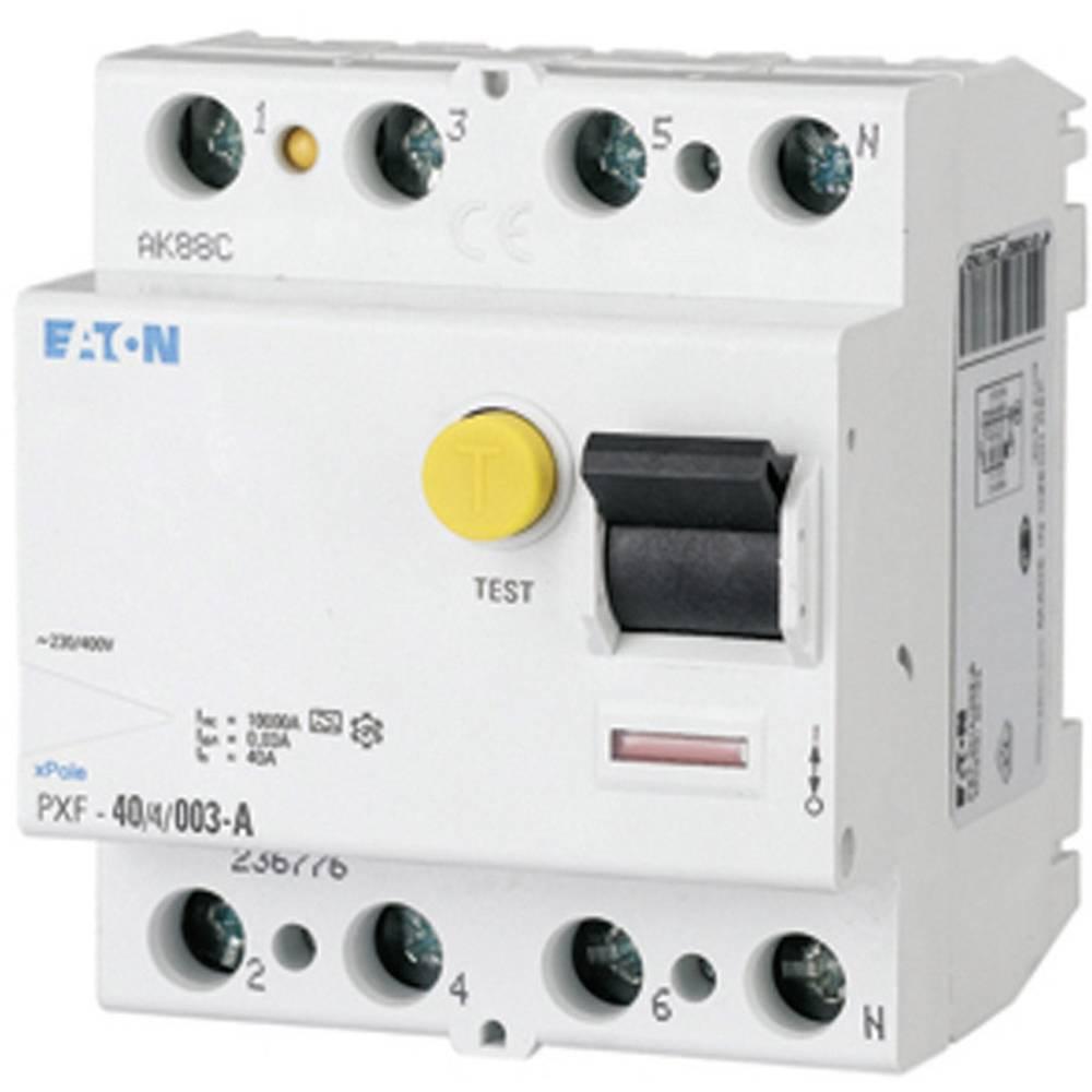 FI-sikkerhedsafbryder 4-polet 25 A 0.03 A 400 V Eaton 236772
