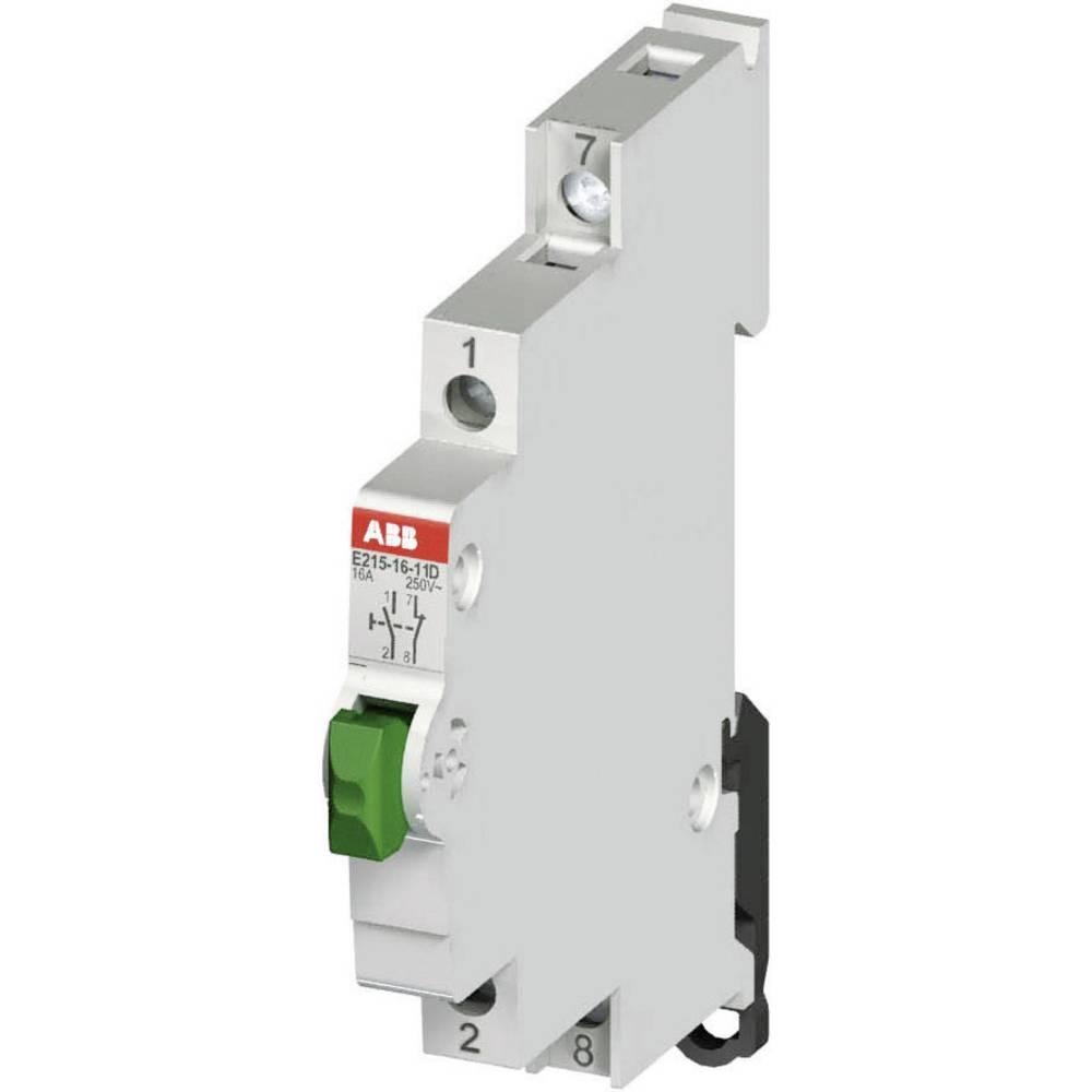 Tipkalo za razdelilno omarico 16 A 1 zapiralno, 1 odpiralno 250 V/AC ABB 2CCA703155R0001