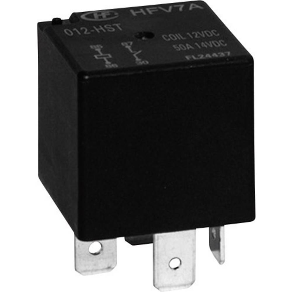 Kfz-Relais (value.1292934) 24 V/DC 40 A 1 Wechsler (value.1345271) Hongfa HFV7A/024-Z4TR