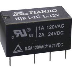 Signalni rele HJR1-2C Tianbo Electronics HJR1-2C-L-05VDC 5 V/DC 2 preklopnik maks. 2 A maks. 60 V/DC/ 240 V/AC maks. 120 VA/ 6