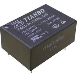 PCB rele TRCD Tianbo Electronics TRCD-L-12VDC-S-H 12 V/DC 1 zapiralo maks. 16 A maks. 125 V/DC/ 250 V/AC maks. 4000 VA/