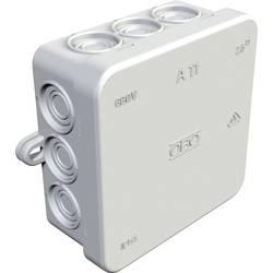 Avgreningsbox (LxBxH) 85 x 85 x 40.5 mm Ljusgrå IP54