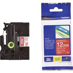 TZe traka za označavanje TZe-435 Brother boja trake: crvena boja natpisa:bijela 12 mm 8 m