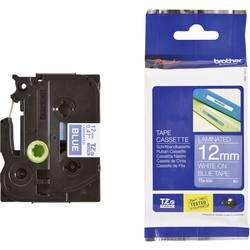 TZe traka za označavanje TZe-535 Brother boja trake: plava boja natpisa:bijela 12 mm 8 m