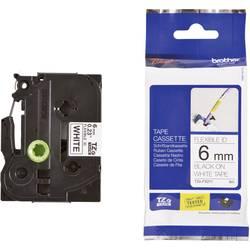 TZe-FX traka za označavanje TZe-FX211 Brother boja trake: bijela boja natpisa: crna 6 mm 8 m