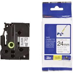 TZe-FX traka za označavanje TZe-FX251 Brother boja trake: bijela boja natpisa: crna 24 mm 8 m