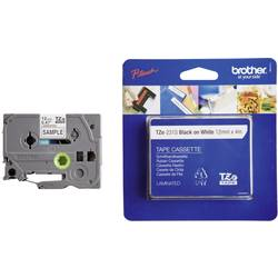 TZe traka za označavanje TZe-231S Brother boja trake: bijela boja natpisa: crna 12 mm 4 m