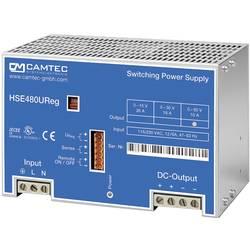 Laboratorijski naponski uređaj, podesivi Camtec HSEUreg04801.50T 0 - 50 V/DC 10 A 480 W broj izlaza 1