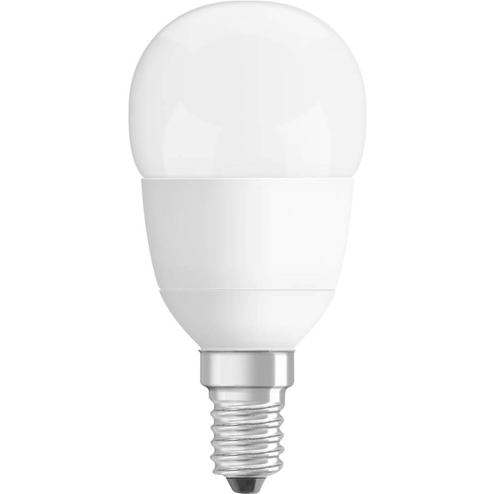 LED E14 kapljasta oblika 6 W = 40 W topla bela (p x D) 47 mm x 89 mm EEK: A+ OSRAM 1 kos