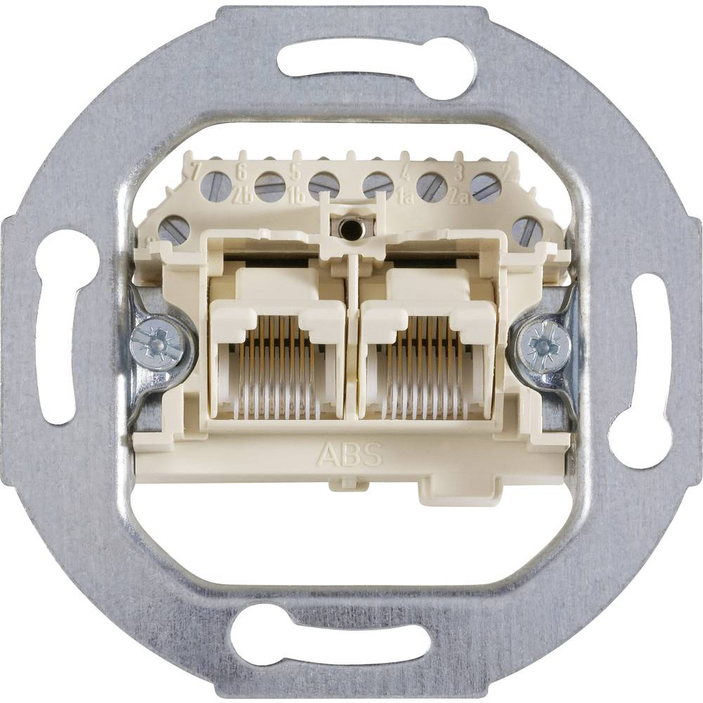 Busch-Jaeger razvodna kutija za telefon 2X8, paralelno povezivanje 0214