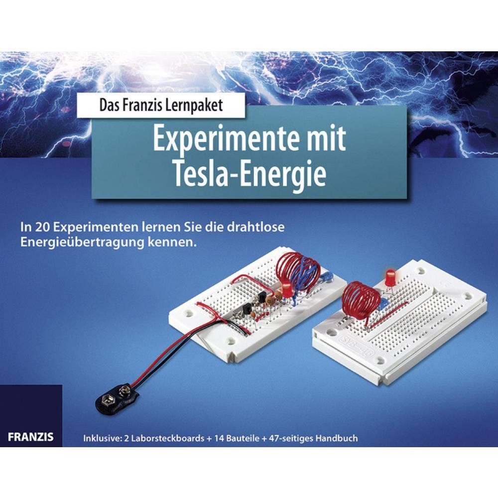 Franzis paket za učenje Teslini eksperimenti - Energija 65201 od 14 godina Franzis Verlag