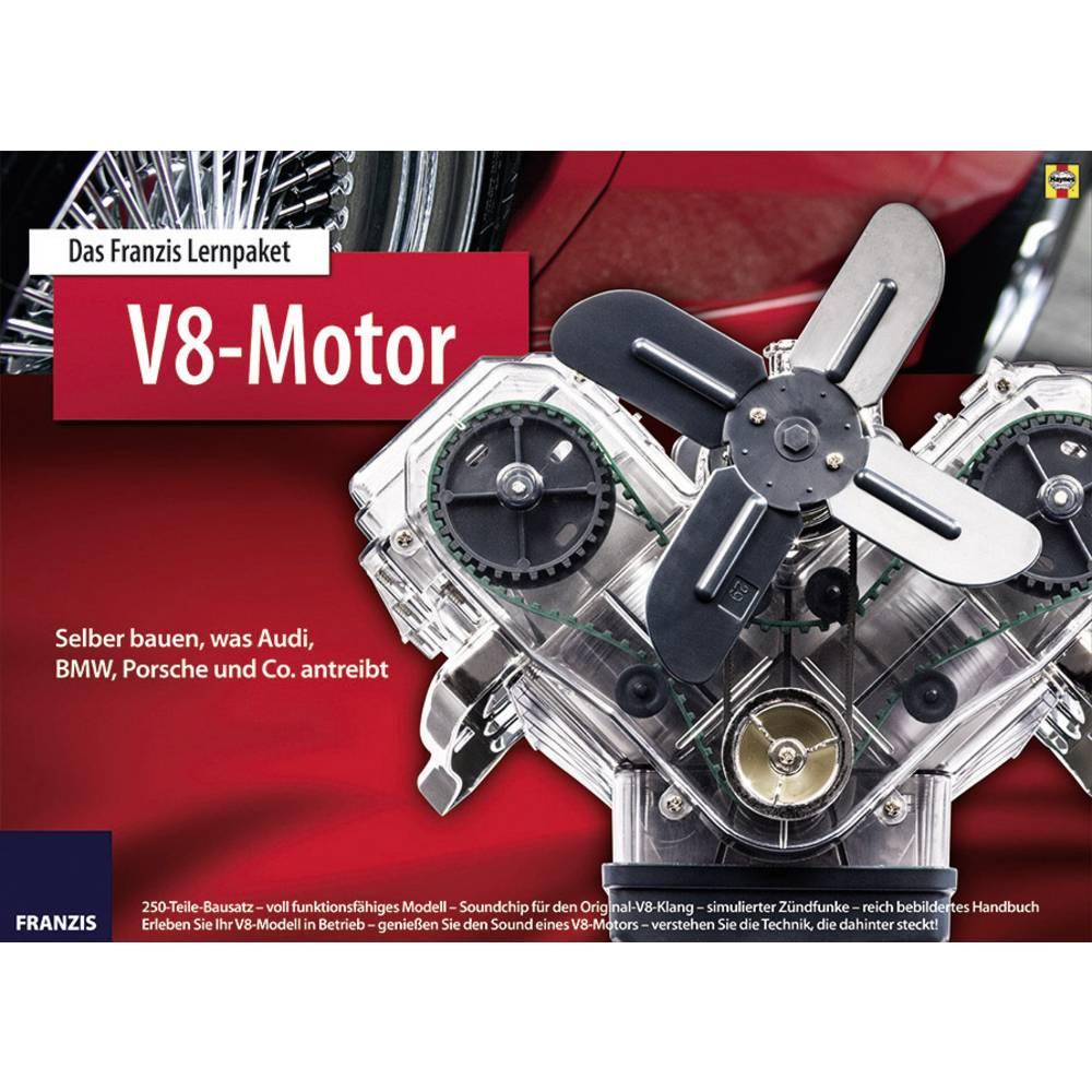 Franzis paket za učenje V8-motor 65207 od 14 godina Franzis Verlag